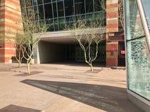 Ingang aan Phoenix Convention Center, AZ Royalty-vrije Stock Foto's