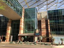 Ingang aan Phoenix Convention Center, AZ Royalty-vrije Stock Afbeelding