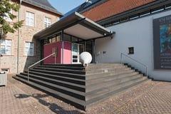 Ingang aan Stadtmuseum in Hofheim am Taunus Royalty-vrije Stock Foto