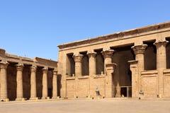 Ingang aan Tempel Philae Royalty-vrije Stock Afbeelding
