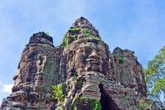Ingang in Angkor Wat Royalty-vrije Stock Fotografie