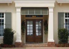 Ingang - Architecturale Details Royalty-vrije Stock Afbeeldingen