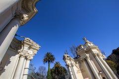 Ingang in de dierentuin van Rome Royalty-vrije Stock Afbeelding