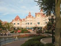 Ingang in Disneyland Parijs Stock Afbeelding