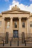 Ingang, Gerechtsgebouw Derry Londonderry Noord-Ierland Het Verenigd Koninkrijk royalty-vrije stock afbeeldingen