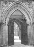 Ingang II van de kerk stock foto