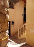 Ingang Juni 2008 van het Huis van de Stad van Safed de Oude Royalty-vrije Stock Foto
