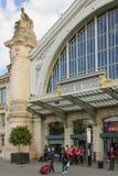 ingang Station reizen frankrijk stock foto's