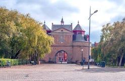 Ingang van Brugge Stock Afbeeldingen