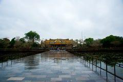 Ingang van Citadel, Tint, Vietnam royalty-vrije stock foto's