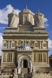 Ingang van Curtea DE Arges Monastery Royalty-vrije Stock Foto