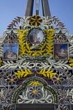 Ingang van de Basiliek van Onze Dame van Guadalupe Royalty-vrije Stock Afbeelding