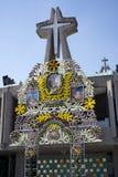 Ingang van de Basiliek van Onze Dame van Guadalupe Royalty-vrije Stock Afbeeldingen