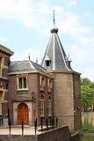 Ingang van de Kleine Toren in Den Haag, Holland Stock Fotografie