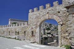 Ingang van de Pianosa de oude haven Royalty-vrije Stock Afbeelding