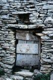 Ingang van een schuilplaats van shephard royalty-vrije stock foto's