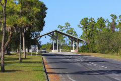 Ingang van Everglades Royalty-vrije Stock Afbeeldingen