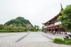 Ingang van het JiaoShan de toneelgebied Stock Afbeelding
