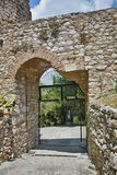 Ingang van het kasteel van Lamia City Royalty-vrije Stock Fotografie