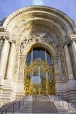 Ingang van het Petit Palais Royalty-vrije Stock Afbeelding