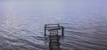 Ingang 2 van het watergebied Stock Afbeeldingen