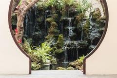 Ingang van Japanse tuin Stock Foto