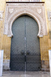 Ingang van Mezquita in Cordoba, Spanje Stock Afbeeldingen