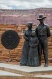 Ingang van Monumentenvallei, Arizona Stock Afbeeldingen