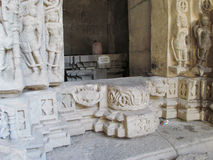 Ingang van Oude tempel Royalty-vrije Stock Afbeelding
