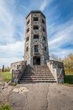Ingang van steentoren Stock Afbeelding