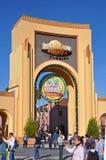 Ingang van Universal Studios Orlando, Florida, de V.S. stock afbeeldingen