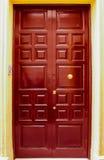 Ingangsdeur Royalty-vrije Stock Afbeelding
