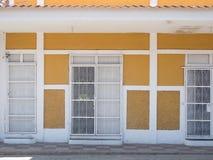 Ingangsdeur in Granada Stock Foto's