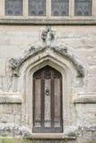 Ingangsdeur, Heilige Drievuldigheidskerk; Stratford Upon Avon; Royalty-vrije Stock Foto's