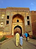 ingangspoort van Lahore-Fort, Lahore, Pakistan royalty-vrije stock fotografie
