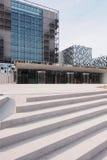 Ingangsstappen van de nieuwe Internationale Strafrechter Royalty-vrije Stock Afbeeldingen
