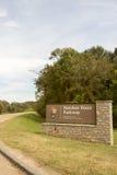 Ingangsteken van Natchez Trace Parkway Royalty-vrije Stock Fotografie