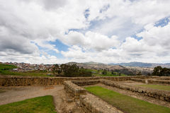 Ingapirca, Ισημερινός Στοκ φωτογραφίες με δικαίωμα ελεύθερης χρήσης