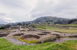 Ingapirca, археологическое место Стоковое фото RF