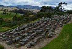Ingapirca, archaeological complex, blocks. Blocks of rock displayed in the archaeological complex of Ingapirca, at Cañar, Equador royalty free stock photo
