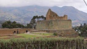 Ingapirca archeological ruins in Ecuador