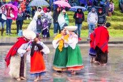 Celebration Of Inti Raymi Festival Stock Images
