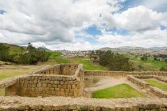 Ingapirca, Ecuador. The city and the ruins Royalty Free Stock Photos