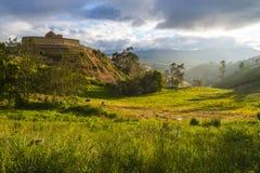 Ingapirca, Ecuador. Ingapirca, Inca wall and town, largest known Inca ruins in Ecuador Royalty Free Stock Photography