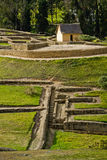 Ingapirca important inca ruins in Ecuador Stock Images