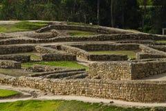 Ingapirca important inca ruins in Ecuador Royalty Free Stock Photos