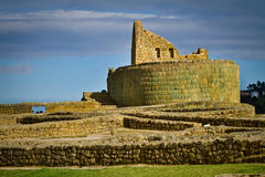 Ingapirca important inca ruins in Ecuador Royalty Free Stock Images