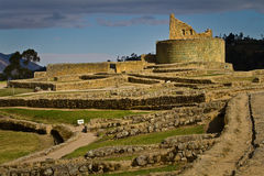 Ingapirca important inca ruins in Ecuador Royalty Free Stock Photos