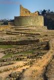 Ingapirca important inca ruins in Ecuador Royalty Free Stock Image