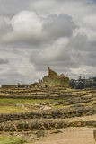 Ingapirca Inca Ruins in Azuay Ecuador. Ingapirca, a touristic location in which is located an ancient inca temple located in Azuay province, Ecuador Royalty Free Stock Photography